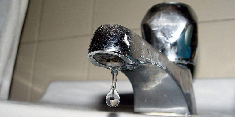 Coupures d'eau