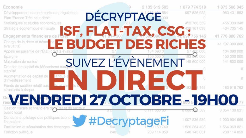 decryptage budget