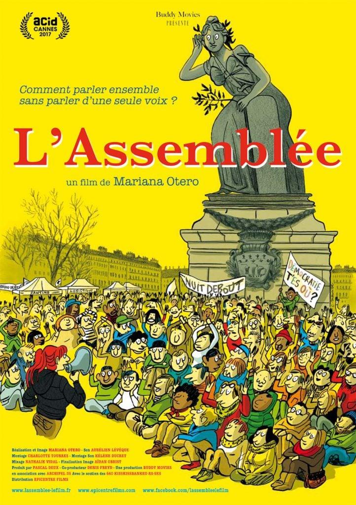"""affiche du film """"L'Assemblée"""""""