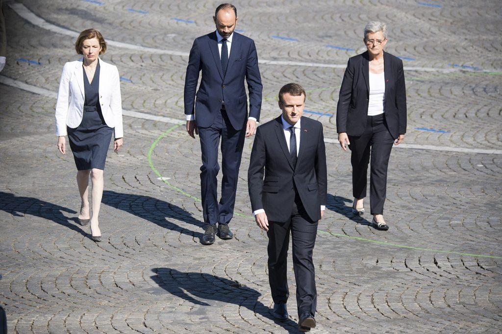 Macron 14 juillet