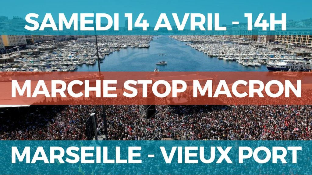 marche marseille 14 avril
