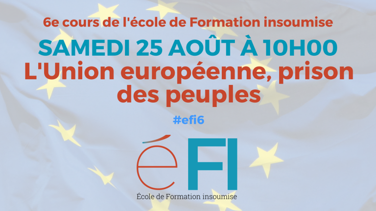 cours ecole formation insoumise