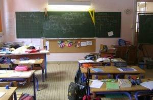 école salle de classe