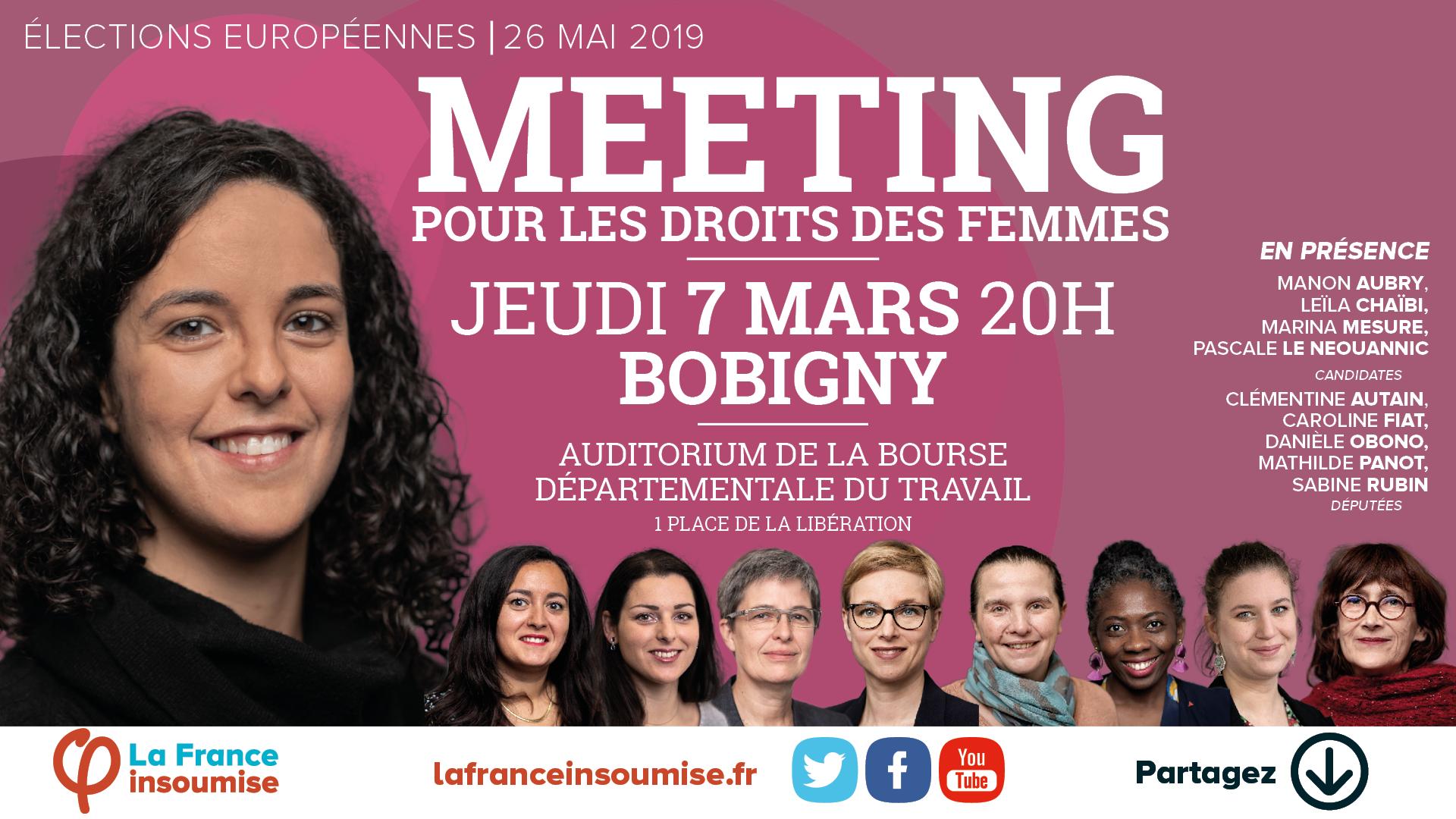 Meeting Bobigny