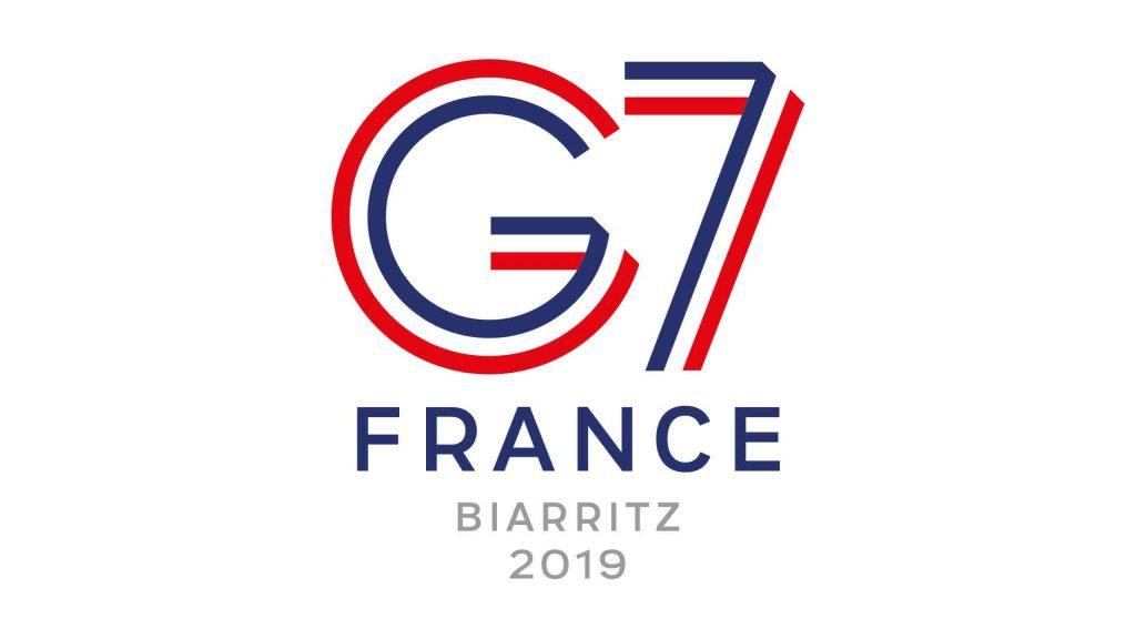 Logo G7 Biarritz