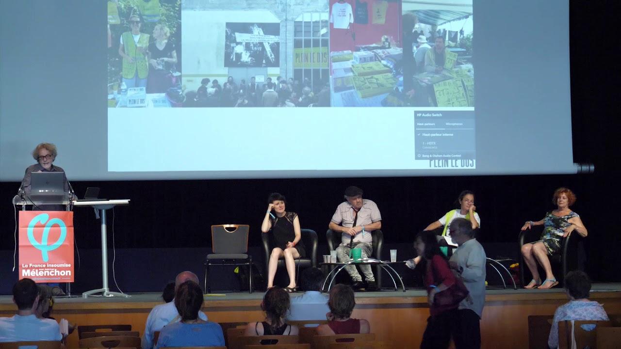 Conférence sur le mouvement artistique des GJ