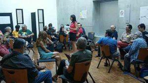 Atelier d'éducation populaire durant les AMFiS 2019