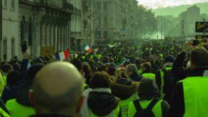 manifestation grève 5 décembre gilets jaunes