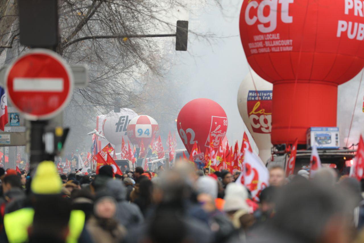 photo grève 5 décembre