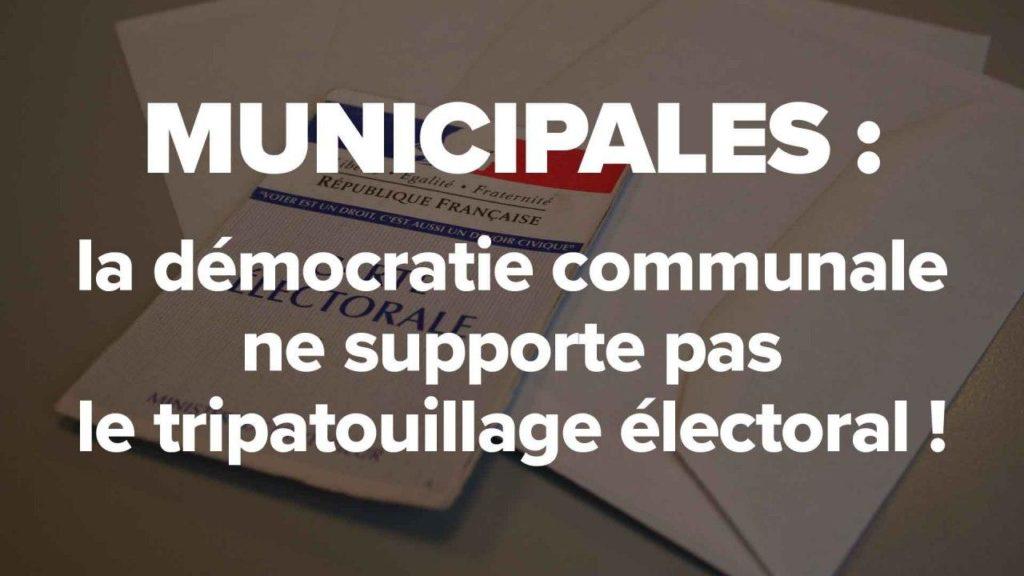 municipales elections democratie