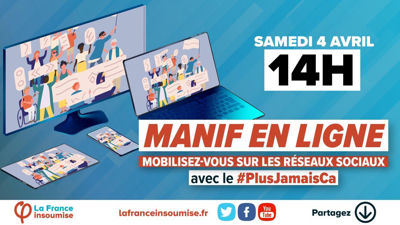 #PlusJamaisCa samedi 14h
