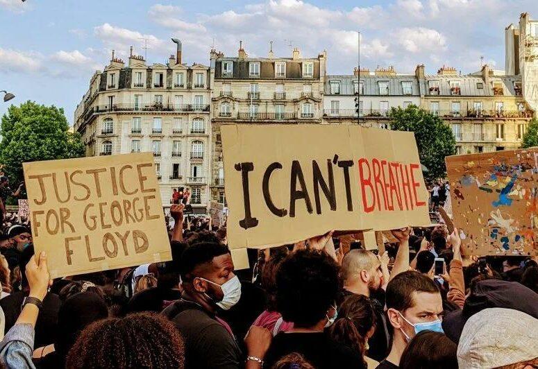 Manifestation justice pour Adama et George Floyd