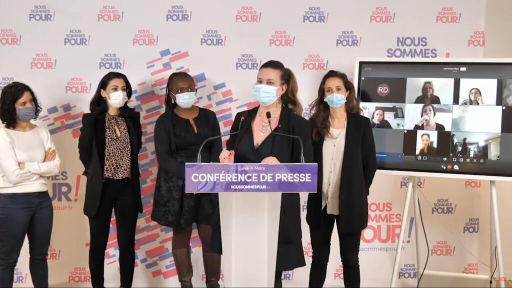 Conférence de presse 8 mars