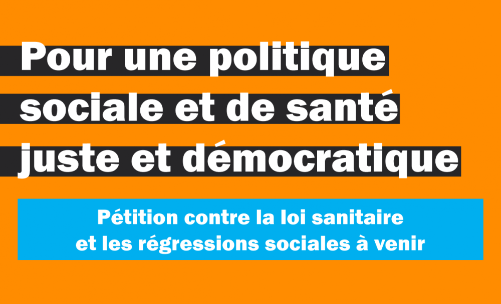 petition pass sanitaire